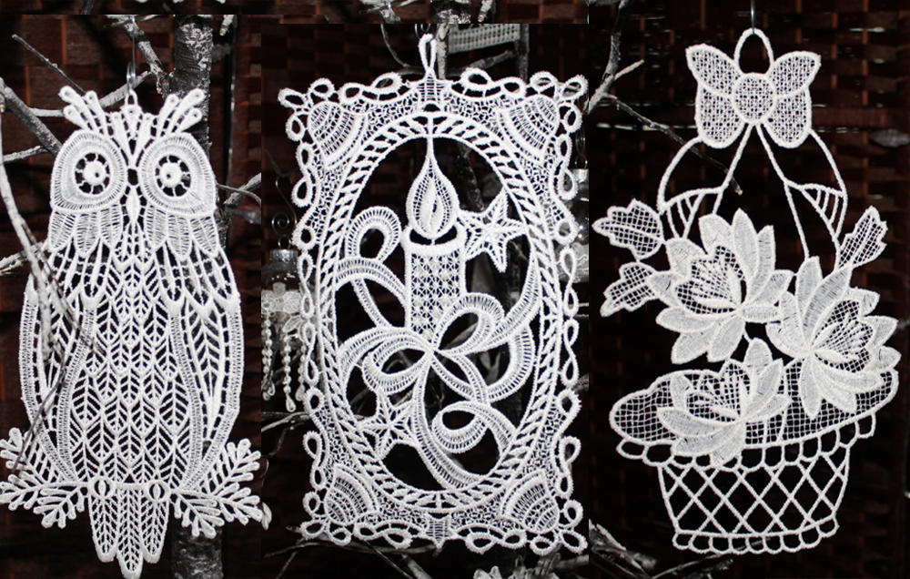 Lace Ornaments