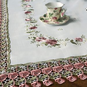 Shabby Chic Rose Lace