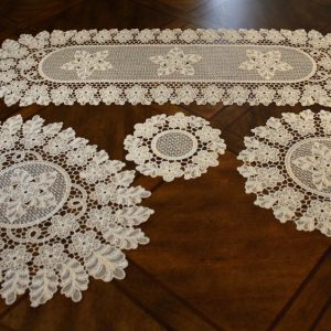 Antique Filet Lace